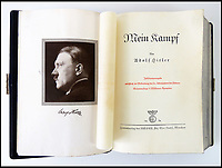Herman Goering's own copy of Hitlers Mein Kampf.