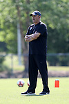 CARY, NC - APRIL 20: Assistant coach Bill Palladino. The North Carolina Courage held a training session on April 20, 2017, at WakeMed Soccer Park Field 7 in Cary, NC.