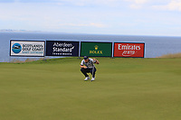 David Horsey (ENG) on the 5th during Round 1 of the Aberdeen Standard Investments Scottish Open 2019 at The Renaissance Club, North Berwick, Scotland on Thursday 11th July 2019.<br /> Picture:  Thos Caffrey / Golffile<br /> <br /> All photos usage must carry mandatory copyright credit (© Golffile | Thos Caffrey)