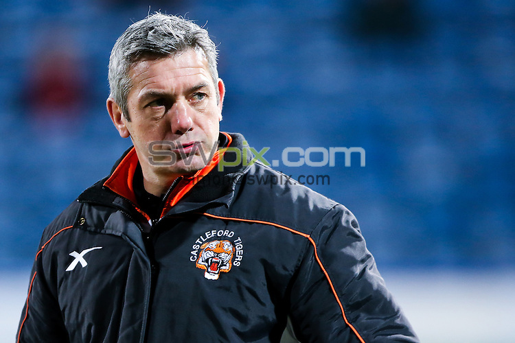 Picture by Alex Whitehead/SWpix.com - 12/03/2015 - Rugby League - First Utility Super League - Huddersfield Giants v Castleford Tigers - John Smith's Stadium, Huddersfield, England - Castleford's head coach Daryl Powell.