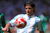 Sergio &quot;Kun&quot; Aguero of Argentina during the Olympic Games final. Argentina beats Nigeria 1-0 and won the gold medal <br /> National Indoor - Bird Nest - Football - Calcio<br /> Pechino - Beijing 23/8/2008 Olimpiadi 2008 Olympic Games<br /> Foto Andrea Staccioli Insidefoto