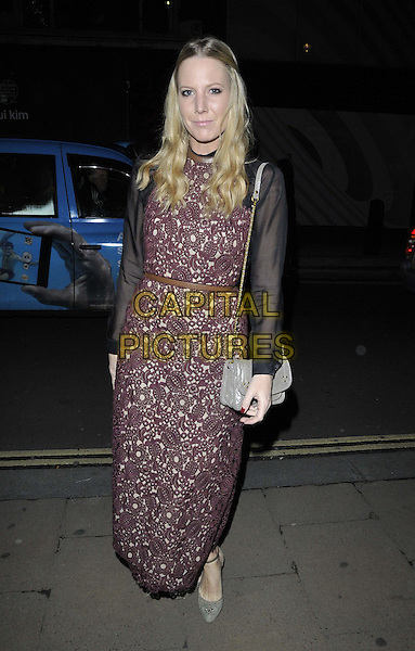 LONDON, ENGLAND - NOVEMBER 27: Alice Naylor Leyland attends the &quot;Mikhail Baryshnikov: Dancing Away&quot; photography collection private view, Contini Art UK, New Bond St., on Thursday November 27, 2014 in London, England, UK. <br /> CAP/CAN<br /> &copy;Can Nguyen/Capital Pictures