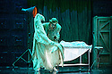 English Touring Opera presents THE TALES OF HOFFMANN, at the Britten Theatre, Royal College of Music. Written by Jacques Offenbach, with libretto by Jules Barbier, this production is directed by James Bonas. Picture shows: Matt R J Ward (Cochenille)