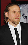 HOLLYWOOD, CA - NOVEMBER 29: Charlie Hunnam arrives at the 'Deadfall' Los Angeles premiere at ArcLight Hollywood on November 29, 2012 in Hollywood, California.