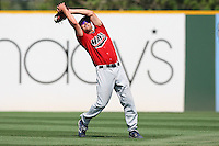 July 16 2008: Joe Simokaitis of the High Desert Mavericks during game against the Rancho Cucamonga Quakes at The Epicenter in Rancho Cucamonga,CA.  Photo by Larry Goren/Four Seam Images