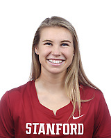 Stanford, CA - September 20, 2019: Mackenzie Chapman, Athlete and Staff Headshots