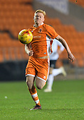 04/12/2018 FA Youth Cup 3rd Round Blackpool v Derby County<br /> <br /> Owen Watkinson attack