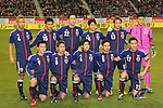 Japan team group line-up (JPN), .FEBRUARY 6, 2013 - Football / Soccer : .KIRIN Challenge Cup 2013 Match between Japan 3-0 Latvia .at Home's Stadium Kobe in Hyogo, Japan. .(Photo by Akihiro Sugimoto/AFLO SPORT)