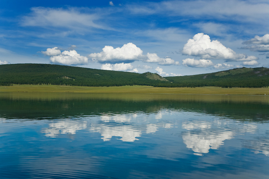 Reflections on Lake Khovsgol Mongolia
