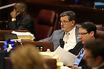 Nevada Assemblyman James Oscarson, R-Pahrump, works on the Assembly floor during a special Legislative session in Carson City, Nev., on Tuesday, June 4, 2013. <br /> Photo by Cathleen Allison