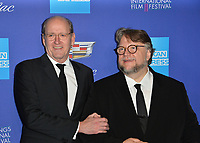 Richard Jenkins & Guillermo del Toro at the 2018 Palm Springs Film Festival Awards at Palm Springs Convention Center, USA 02 Jan. 2018<br /> Picture: Paul Smith/Featureflash/SilverHub 0208 004 5359 sales@silverhubmedia.com