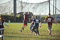 The Baltimore Sports & Social Club sports over 180 team playing flag football in the fall, with other sports in other seasons.