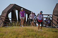 Katherine Perry (USA) makes her way across the bridge near the tee on 2 during the round 3 of the Volunteers of America Texas Classic, the Old American Golf Club, The Colony, Texas, USA. 10/5/2019.<br /> Picture: Golffile   Ken Murray<br /> <br /> <br /> All photo usage must carry mandatory copyright credit (© Golffile   Ken Murray)