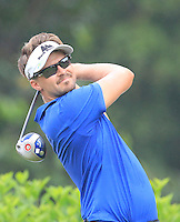 Rikard Karlberg (SWE) on the 7th tee during Round 3 of the CIMB Classic in the Kuala Lumpur Golf & Country Club on Saturday 1st November 2014.<br /> Picture:  Thos Caffrey / www.golffile.ie