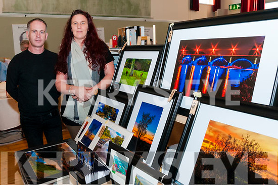 Craft Fair: Steve & Anitra Kelly displaying their photographic skills at the craft fair at the Seanchai Centre, Listowel as part of the Food Fair on Sunday last.