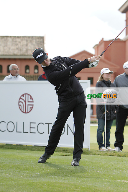 Brandon Stone (RSA) during Round 1 of the NH Collection Open at the La Reserva de Sotogrande Club de Golf in Cadiz Spain on Thursday 3rd April 2014<br /> Picture:  Thos Caffrey / www.golffile.ie