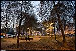 I giardini di piazza Bottesini in Barriera di Milano. Nov 2012