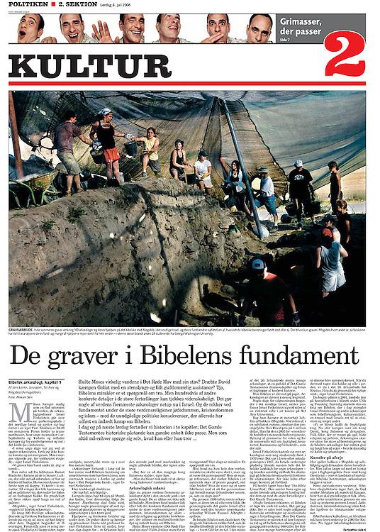 Politiken, Denmark - July 8, 2006