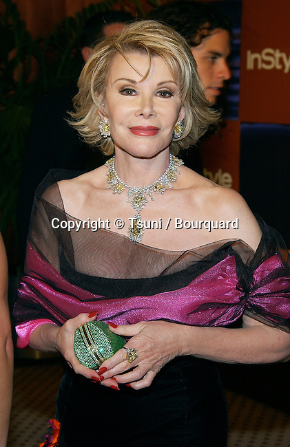 "Joan Rivers arriving at the Golden Globes after party for "" In Style "" at the Beverly Hilton In Los Angeles. January, 19, 2003.            -            RiversJoan099.jpg"