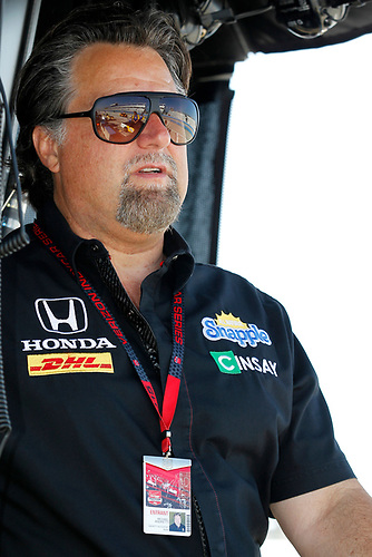 11-12 July, 2015, West Allis, Wisconsin USA<br /> Michael Andretti<br /> ©2015, Ernie Masche<br /> LAT Photo USA
