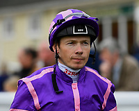 Jockey Jamie Spencer during Afternoon Racing at Salisbury Racecourse on 7th August 2017