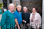 Concert : Pictured at the Danny O'Mahony, Tony Linnane & Mick Conneely concert in St. John's Arts Centre, Listowel on Saturday night last were Bill Galvin, John Galvin, John McCarron & Lucia O'Neill.