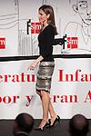 Princess Letizia of Spain attends `El barco de vapor´ Awards ceremony at Real Casa de Correos in Madrid, Spain. April 01, 2014. (ALTERPHOTOS/Victor Blanco)