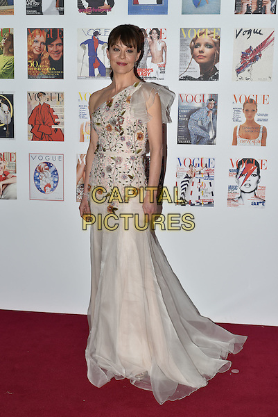Helen McCrory at the Vogue100 anniversary gala dinner, British Vogue's centenary anniversary party, The East Albert Lawn in Kensington Gardens, Hyde Park, London, England, UK, on Monday 23 May 2016.<br /> CAP/PL<br /> &copy;PL/Capital Pictures