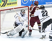 Jon Gillies (PC - 32), Johnny Gaudreau (BC - 13), Brandon Tanev (PC - 22) - The Providence College Friars tied the visiting Boston College Eagles 3-3 on Friday, December 7, 2012, at Schneider Arena in Providence, Rhode Island.