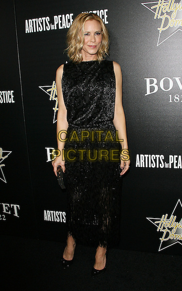 27 February 2014 - West Hollywood, California - Maria Bello. Hollywood Domino&rsquo;s 7th Annual Pre-Oscar Charity Gala held at Sunset Tower Hotel. <br /> CAP/ADM/<br /> &copy;AdMedia/Capital Pictures