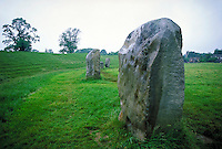 Avebury Stone Circle, England. ancient civilizations, landmarks, anthropology, landscape, standing stones. England.