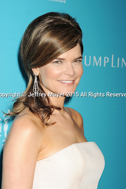 BEVERLY HILLS, CA - FEBRUARY 17: Actress Betsy Brandt attends the 17th Costume Designers Guild Awards at The Beverly Hilton Hotel on February 17, 2015 in Beverly Hills, California.
