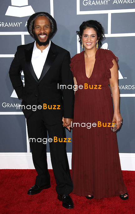 Ziggy Marley   at the 55th Grammy Awards-Arrivals  held at the Los Angeles Convention Center.