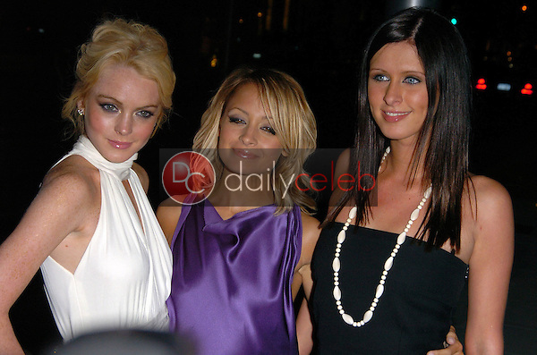 Lindsay Lohan, Nicole Richie and Nicky Hilton<br />