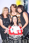 GET-TOGETHER: Ellen Burns from Gliss Hair and Beauty Salon, Barrack Lane, Tralee, was treated to dinner by her friends from Gliss at Tequilas Restaurant on Saturday night, as she is going on maternity leave. Celebrating with Ellen were Geraldine Slattery, Lorna McMahon and Ciara Cotter..