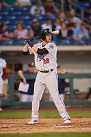 Marty Herum (28) of the Reno Aces bats against the Nashville Sounds at Greater Nevada Field on June 5, 2019 in Reno, Nevada. The Aces defeated the Sounds 3-2. (Stephen Smith/Four Seam Images)