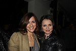 All My Children Rebecca Budig and figure skater Sasha Cohen at the 2012 Skating with the Stars - a benefit gala for Figure Skating in Harlem celebrating 15 years on April 2, 2012 at Central Park's Wollman Rink, New York City, New York.  (Photo by Sue Coflin/Max Photos)