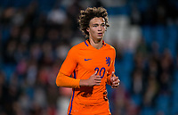 Philippe SANDLER (PEC Zwolle) of Netherlands U20 during the International friendly match between England U20 and Netherlands U20 at New Bucks Head, Telford, England on 31 August 2017. Photo by Andy Rowland.