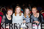 Breda Joy family who cheered her on at the Strictly Come Dancing in aid of the Irish Cancer Society in the INEC on Friday night l-r: Ann Horgan, Mairead Joy, Claire Joy and Margaret Joy