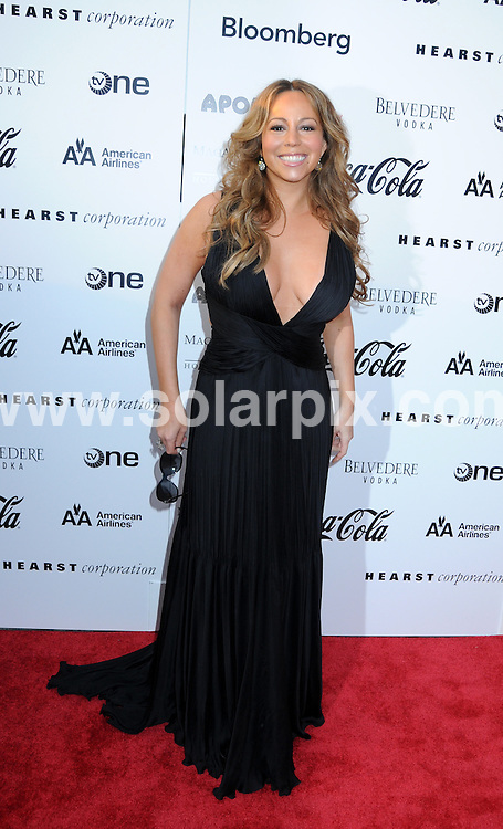 **ALL ROUND PICTURES FROM SOLARPIX.COM**.**SYNDICATION RIGHTS FOR UK, AUSTRALIA, DENMARK, PORTUGAL, S. AFRICA, SPAIN & DUBAI (U.A.E) ONLY**.Mariah Carey arrives for the Apollo Theater 75th Anniversary Gala at the Apollo Theater, New York City, NY, USA. 8 June 2009..This pic: Mariah Carey..JOB REF: 9188 PHZ (Mayer)  DATE: 08_06_2009.**MUST CREDIT SOLARPIX.COM OR DOUBLE FEE WILL BE CHARGED**.**ONLINE USAGE FEE GBP 50.00 PER PICTURE - NOTIFICATION OF USAGE TO PHOTO @ SOLARPIX.COM**.**CALL SOLARPIX : +34 952 811 768 or LOW RATE FROM UK 0844 617 7637**