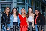 Louise Fleming Killarney Mureann Mulvihill Killarney, Gianna O'Donoghue Firies, Molly Rowe Kilcummin and Jenny Healy Kilcummin celebrate their Leaving Cert results in Killarney on Monday