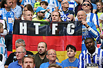 A German Huddersfield Town flag during the Championship Play-Off Final match at Wembley Stadium, London. Picture date: May 29th, 2017. Pic credit should read: David Klein/Sportimage