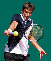 Tommy ROBREDO (ESP) against David NALBANDIAN (ARG) in the third round. David Nalbandian beat Tommy Robredo 6-3 6-4..International Tennis - 2010 ATP World Tour - Masters 1000 - Monte-Carlo Rolex Masters - Monte-Carlo Country Club - Alpes-Maritimes - France..© AMN Images, Barry House, 20-22 Worple Road, London, SW19 4DH.Tel -  + 44 20 8947 0100.Fax - + 44 20 8947 0117