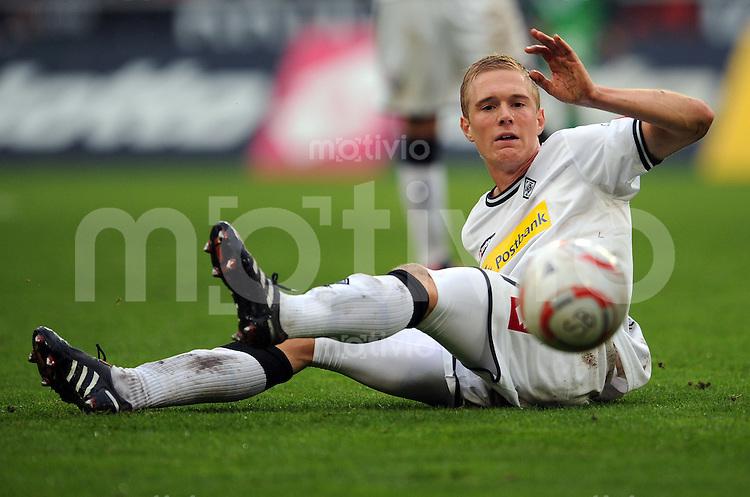 FUSSBALL   1. BUNDESLIGA   SAISON 2010/2011   9. SPIELTAG Borussia Moenchengladbach - SV Werder Bremen     23.10.2010 Jens WISSING (Borussia Moenchengladbach) Einzelaktion am Ball