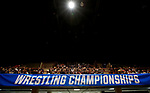LA CROSSE, WI - MARCH 11: Fans awaited the start of the NCAA Division III Men's Wrestling Championship held at the La Crosse Center on March 11, 2017 in La Crosse, Wisconsin. (Photo by Carlos Gonzalez/NCAA Photos via Getty Images)