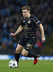 James Forrest of Celtic during the Champions League Group C match at the Etihad Stadium, Manchester. Picture date: December 6th, 2016. Pic Simon Bellis/Sportimage
