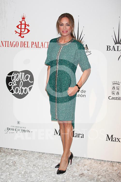 Gema Ruiz attends Santiago Palacio´s fashion show in Madrid, Spain. November 13, 2014. (ALTERPHOTOS/Victor Blanco)