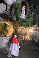 Lourdes,Visit to France of Pope Benedict XVI Sept. 12/14, 2008