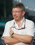 02 Apr 2009, Kuala Lumpur, Malaysia ---   Brawn GP Formula One Team owner Ross Brawn during the 2009 Fia Formula One Malasyan Grand Prix at the Sepang circuit near Kuala Lumpur. Photo by Victor Fraile --- Image by © Victor Fraile / The Power of Sport Images