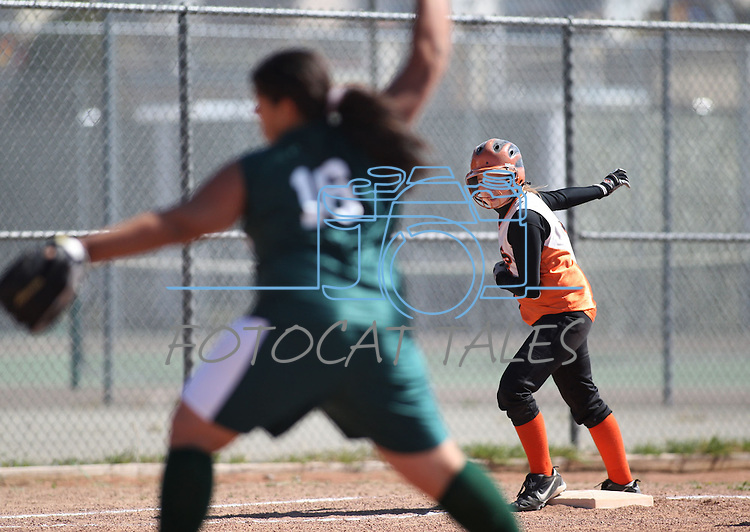 Junior Varsity softball competition in Reno, Nev., on April 19, 2008..Photo by Cathleen Allison